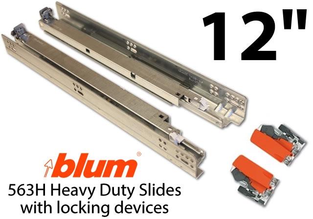 Blum Tandem Plus Blumotion Drawer Guides Pair Of Slides
