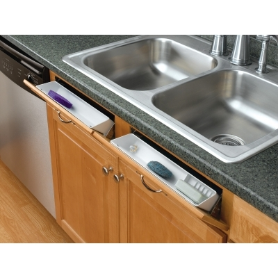 Rev A Shelf Sink Front Tip Out Tray Hinges Pair Steel