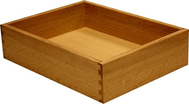 White Oak Quarter Sawn Dovetail Drawer Box