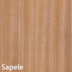 Sapele Unfinished Wood Veneer 4 X8